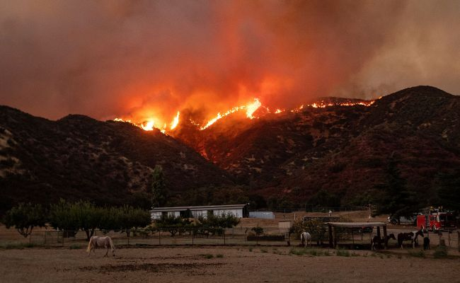 Apple Fire Map Update As California Wildfire Forces