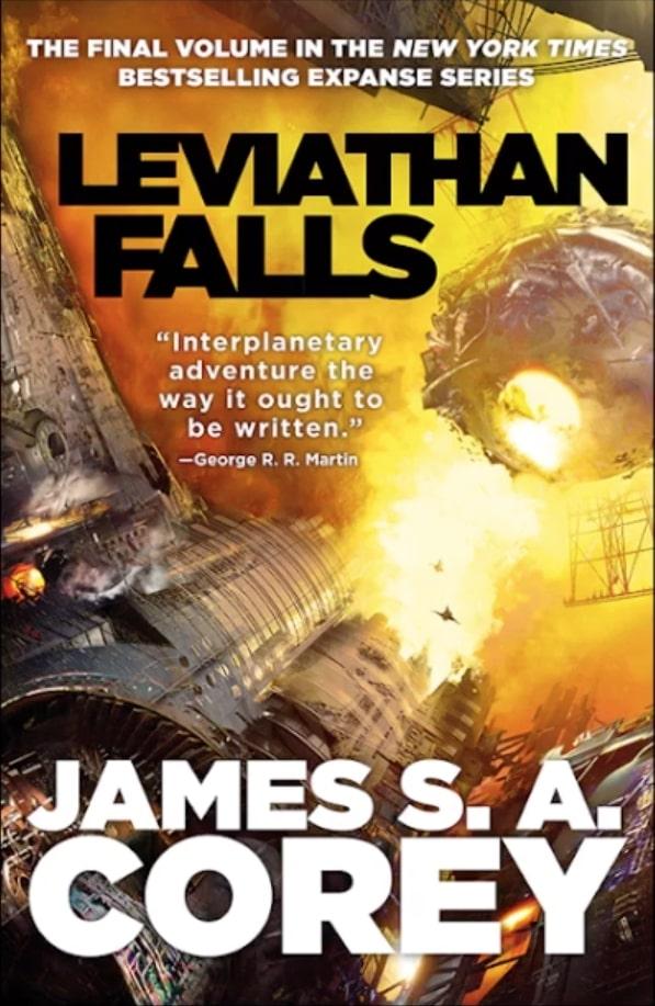 Final Expanse Book : final, expanse, Expanse', Titled, 'Leviathan, Falls,', Release