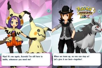 pokemon masters halloween 2020 acerola hilbert