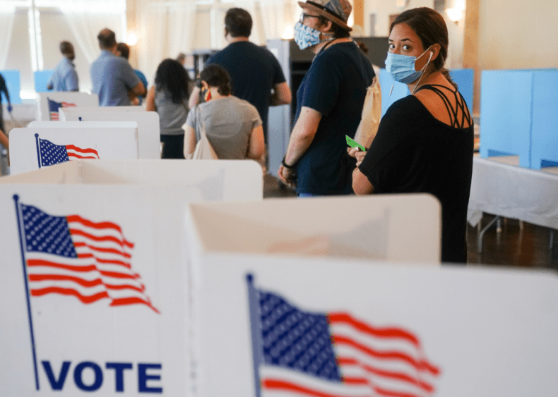 June 9: Primary voting continues