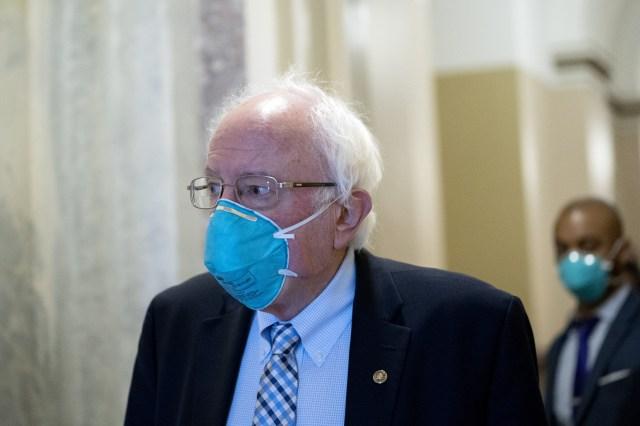 U.S. Sen. Bernie Sanders in U.S, Capitol