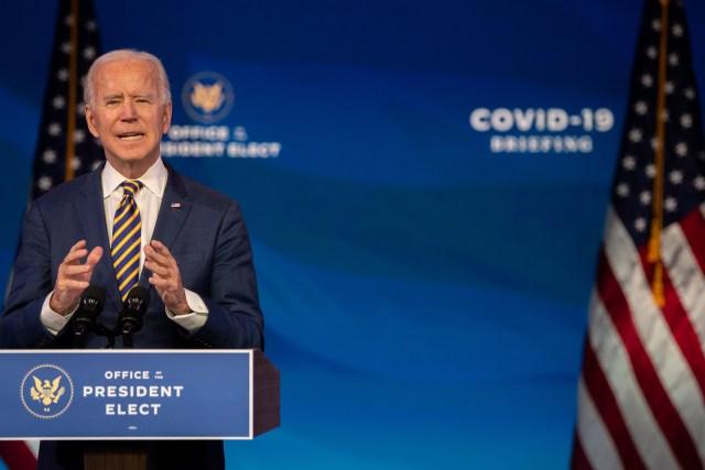 Joe Biden gives speech on coronavirus Delaware