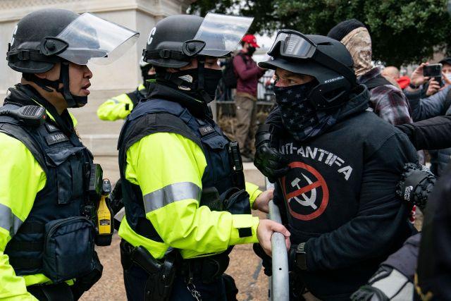 Proud boys riot at Capitol not Antifa