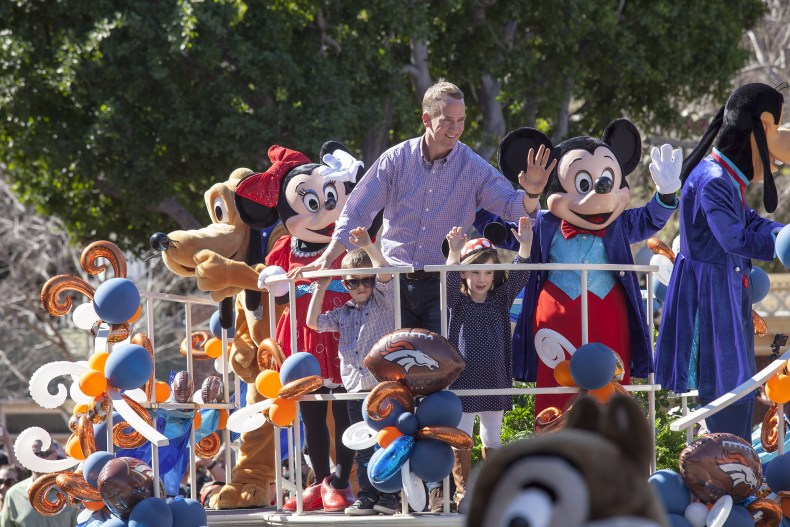 Peyton Manning at Disney World