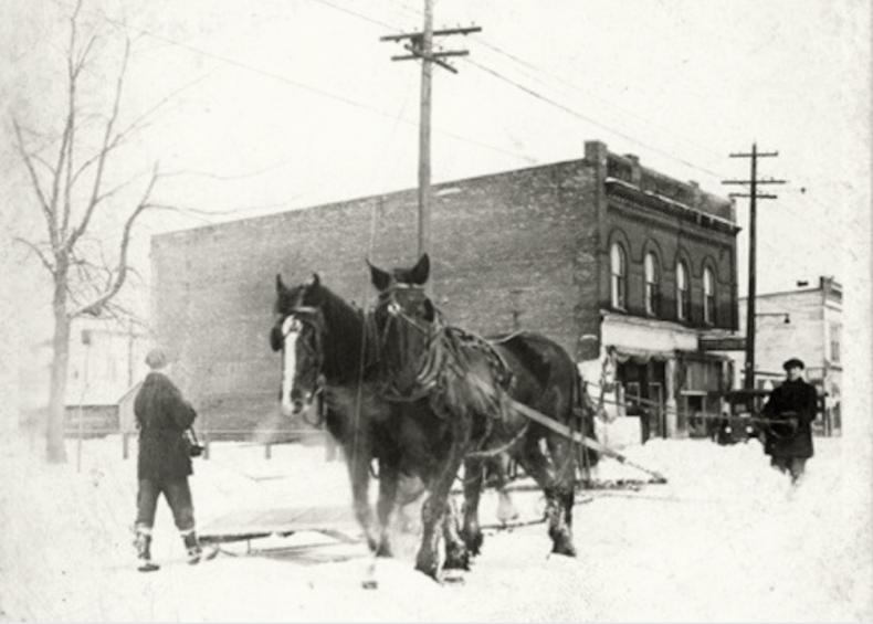 1923: Major snowfall in Sault Ste. Marie