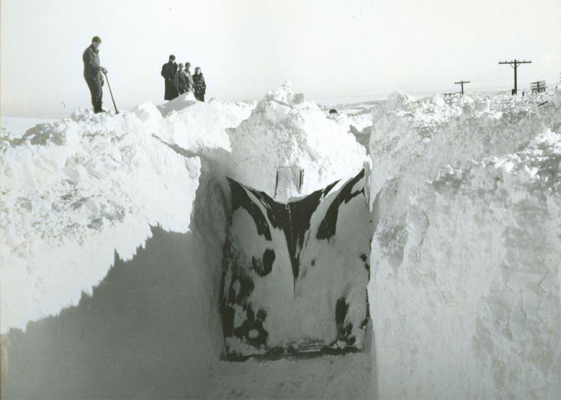 1949: Nebraska's great blizzard