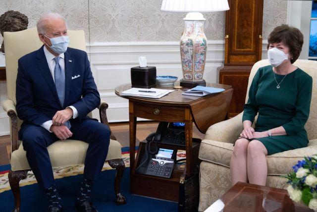 Biden and Collins