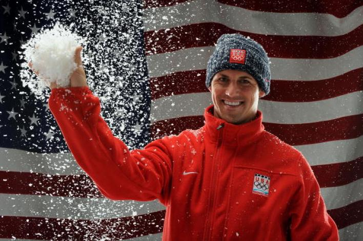 Chad Hedrick Olympic Speed Skater