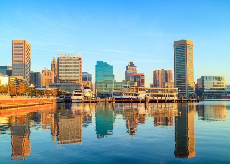 #33. Baltimore-Columbia-Towson, Maryland (tie)