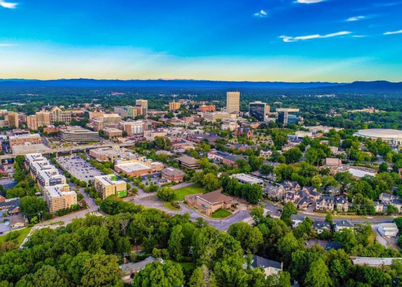 #33. Greenville-Anderson-Mauldin, South Carolina (tie)