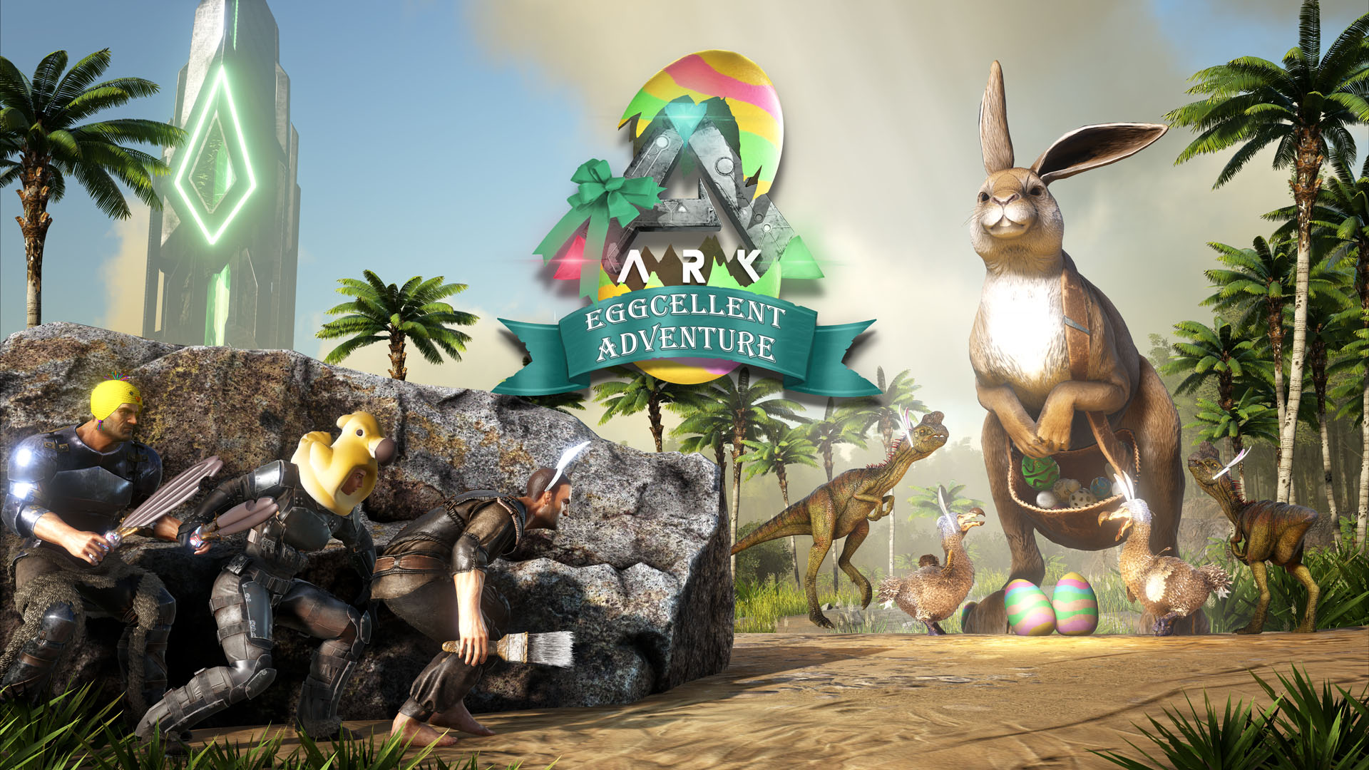 While we receive compensation when you click links to partners, they do not i. 'ARK' Eggcellent Adventure 6 Guide: Bunny Eggs, Chibis and Spawn Codes, Explained