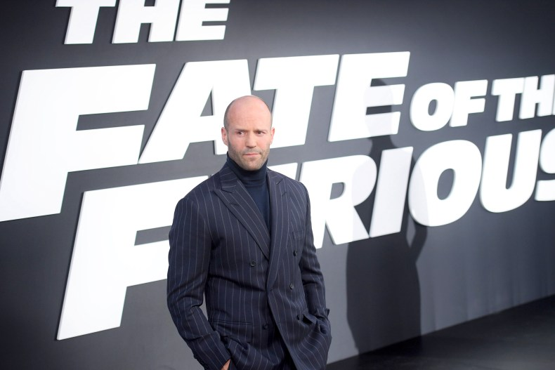 Jason Statham at Fate of the Furious
