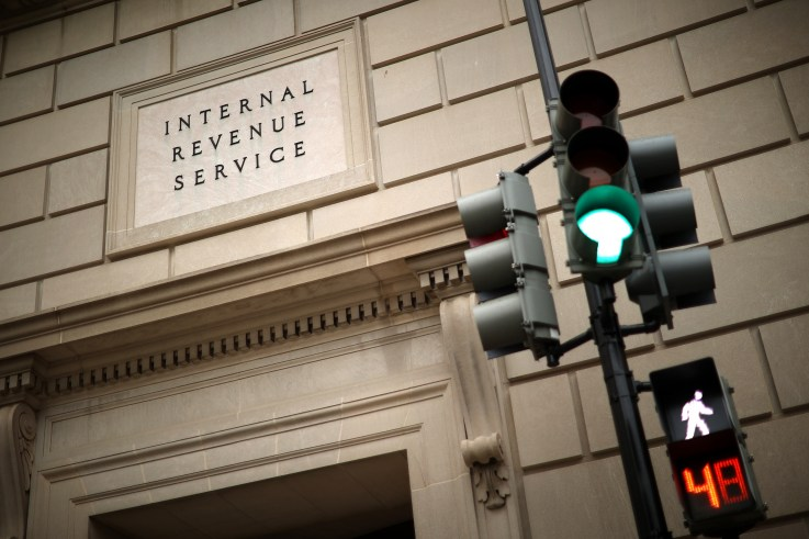 IRS headquarters in Washington DC