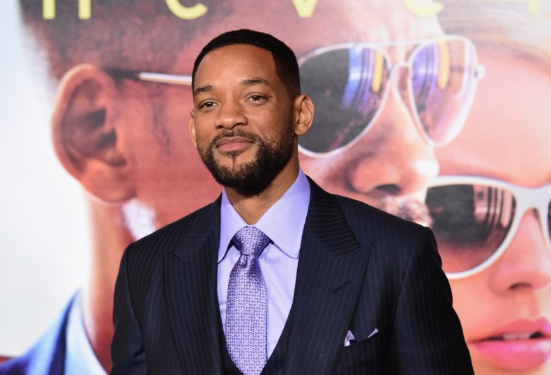 Will Smith at Focus premiere