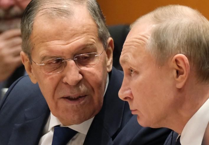 Sergey Lavrov Russia Putin