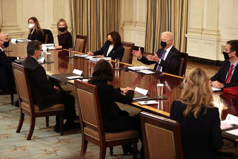 Biden Cabinet 100 Days Senate Secretary