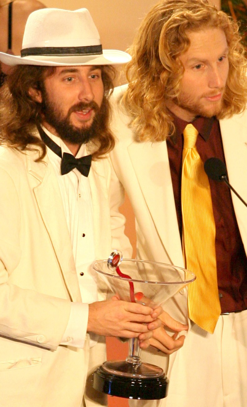 BJ Averell and Tyler McNiven at awards