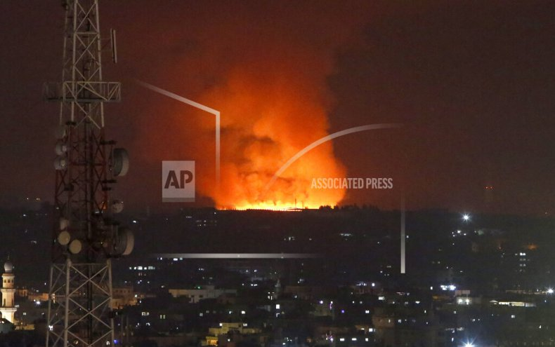 Israeli Forces Strike Gaza Strip