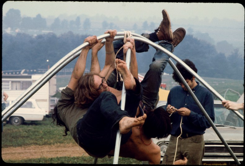 iconic photos from Woodstock