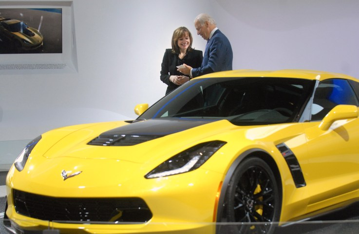 Biden Car show