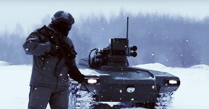 russia, military, unmanned, robot, vehicle