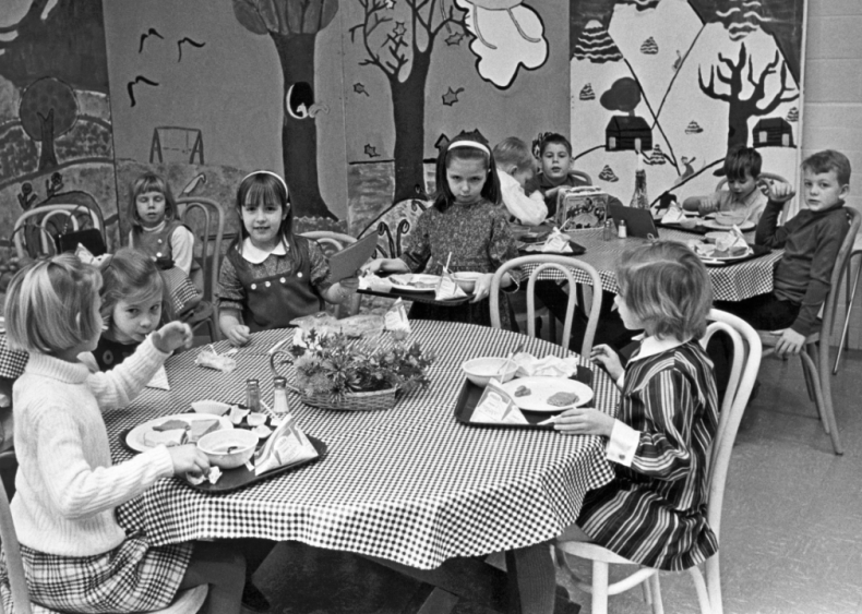 How school cafeteria meals have changed