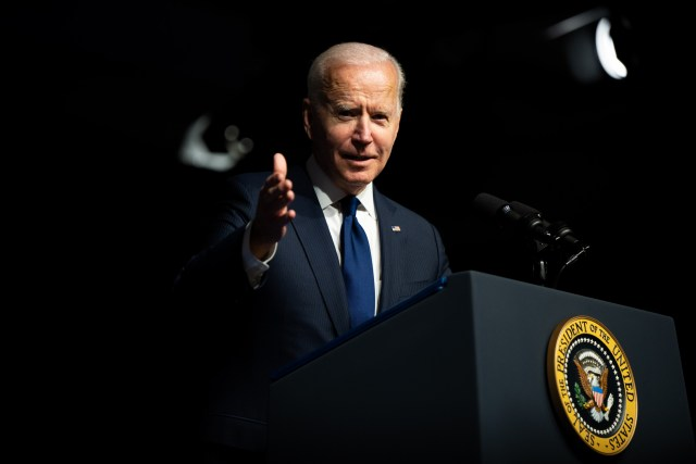 Joe Biden Voting Rights Democrats Senate Tulsa