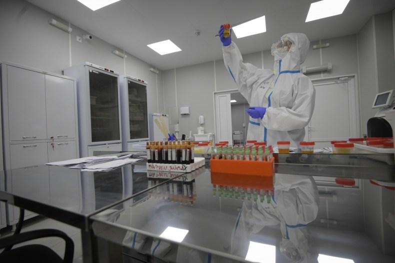 Russia, COVID-19, hospital, laboratory, Moscow