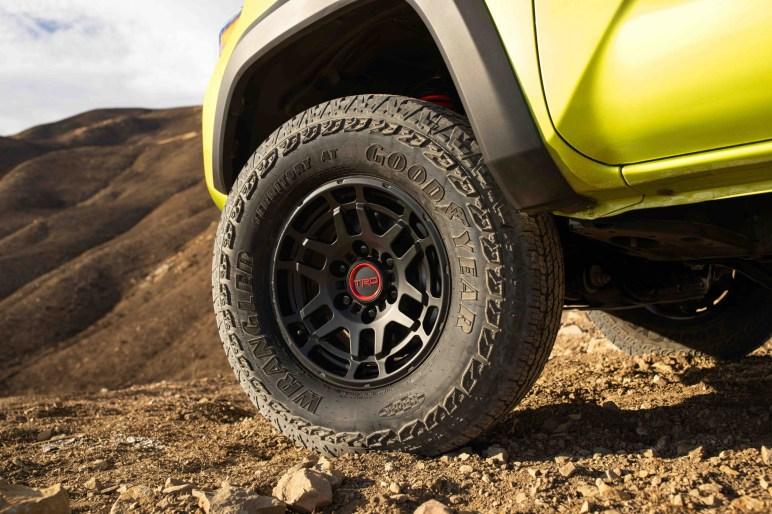 2022 Toyota Tacoma TRD Pro wheels tires