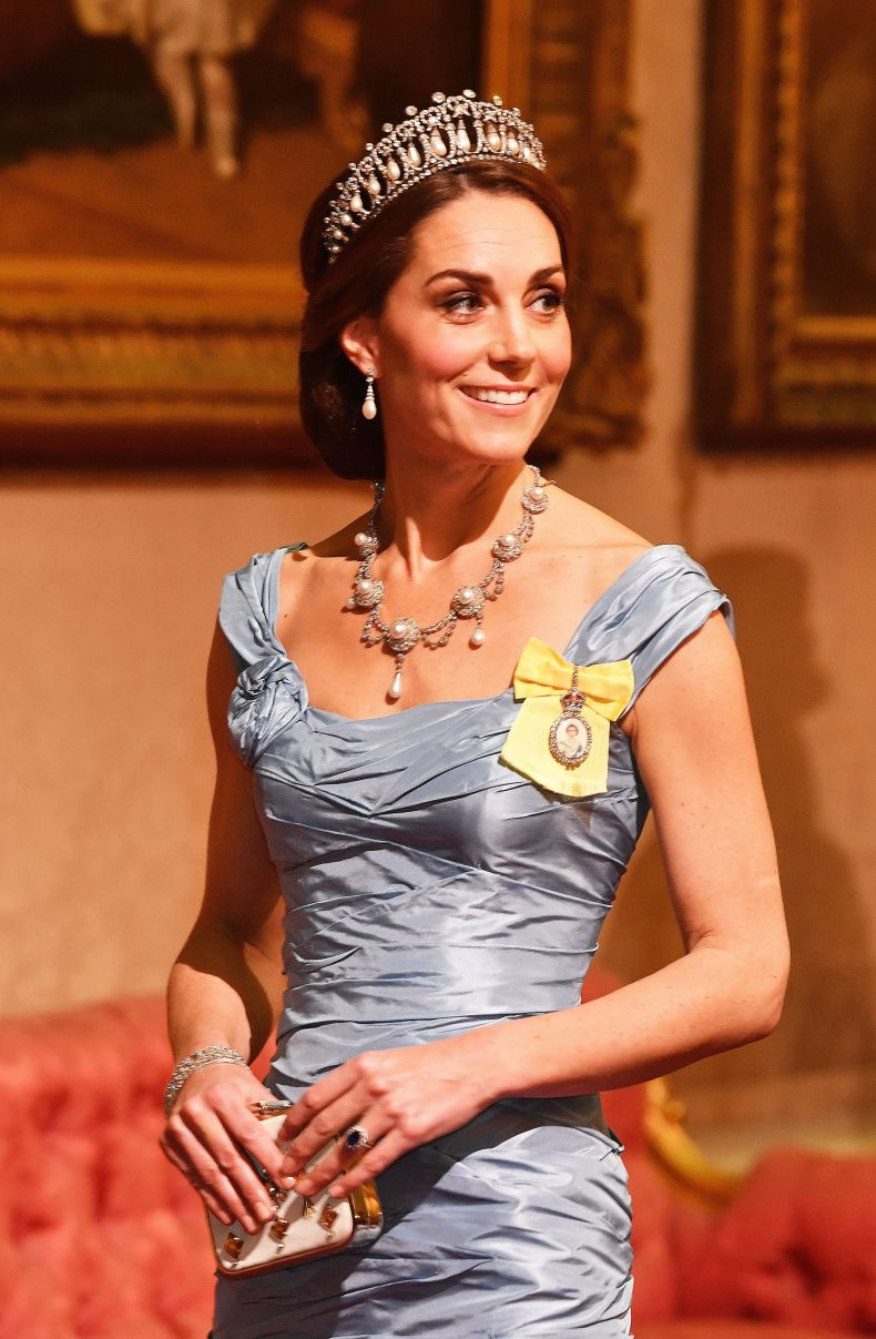 Kate Middleton in Lover's Knot Tiara