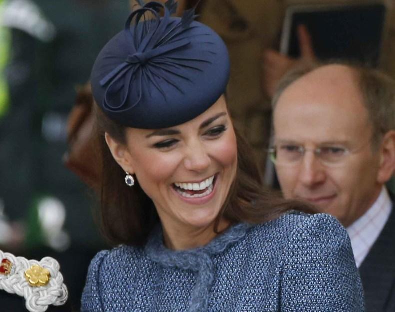 Kate Middleton Wearing Diana's Earrings