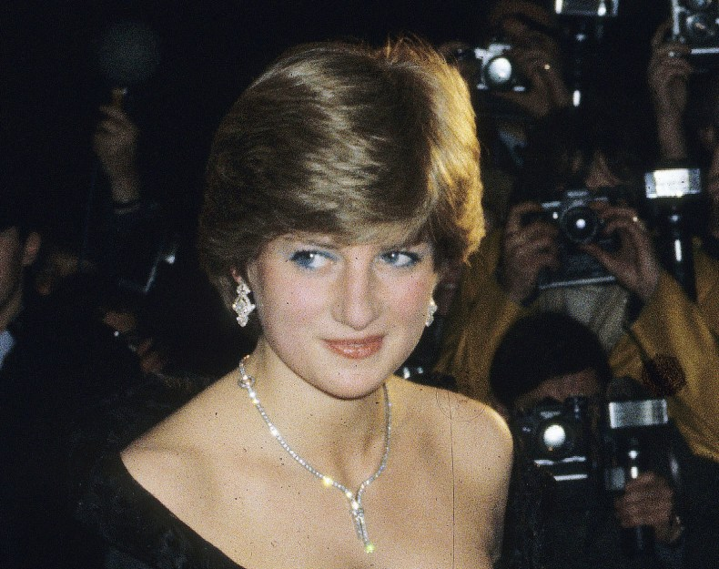 Princess Diana's Famous Black Dress