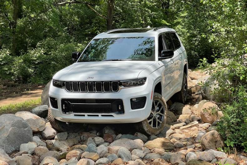 2021 Jeep Grand Cherokee L off-roading