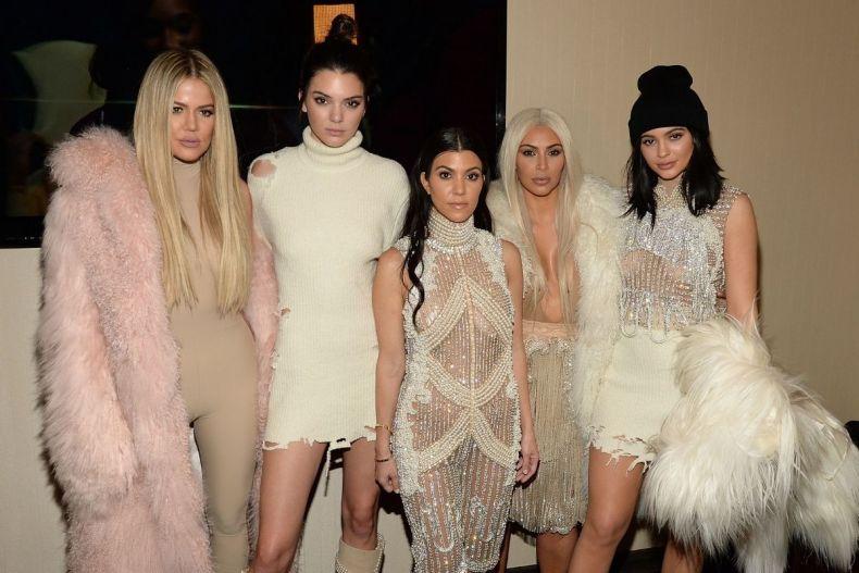 The five Kardashian-Jenner sisters