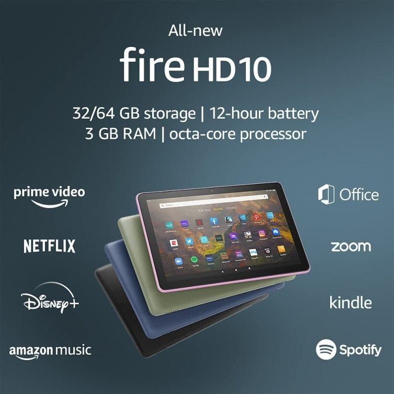 All-new Fire Hd10