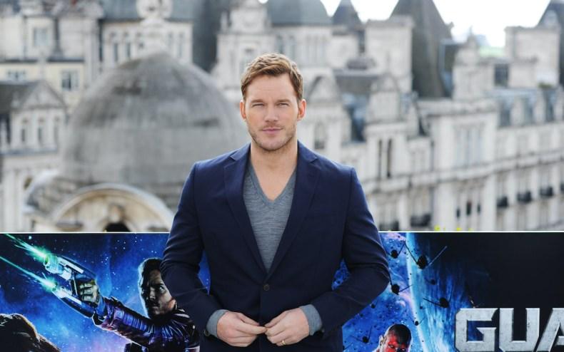 Chris Pratt Photocall london 2014