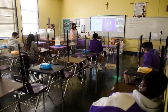 In-Person Pandemic Public School