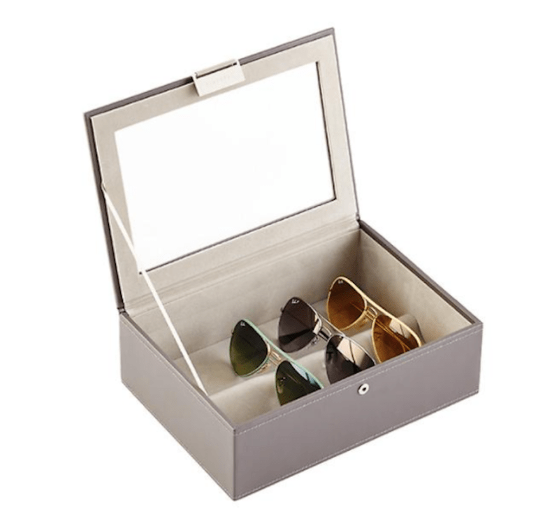 best home organization products sunglasses cases