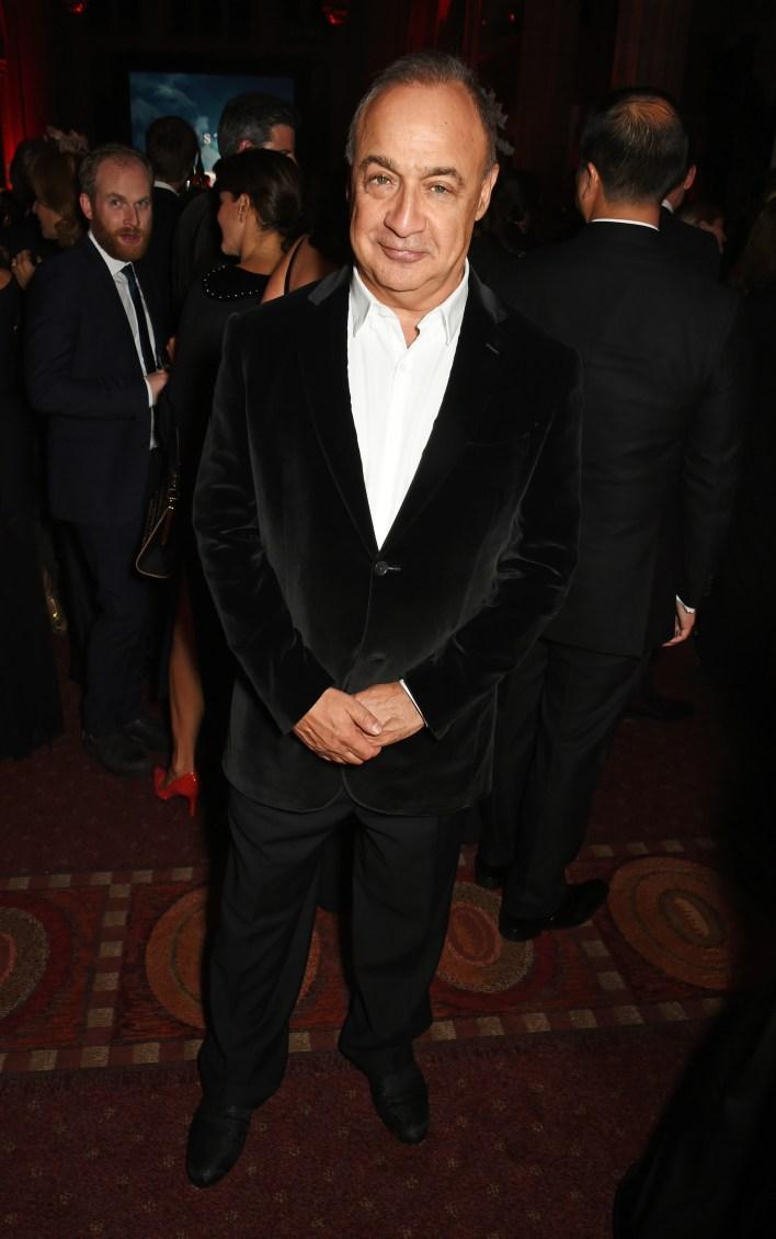 Len Blavatnik at BFI fundraiser