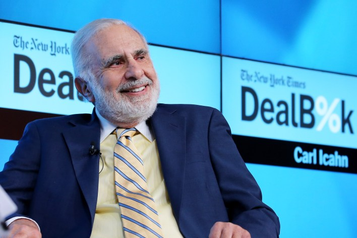 Carl Icahn at Dealbook Conference
