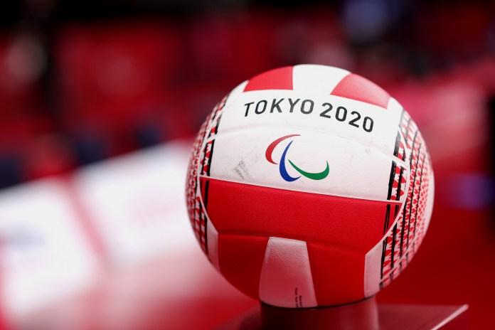 A ball seen at Tokyo 2020 Paralympics.