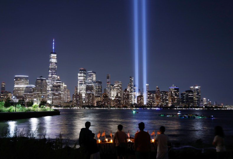 Tribute in Light Pictured on 9/11 Anniversary