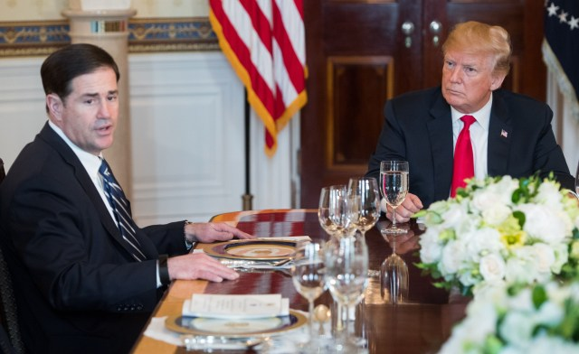 Doug Ducey Speaks with Donald Trump