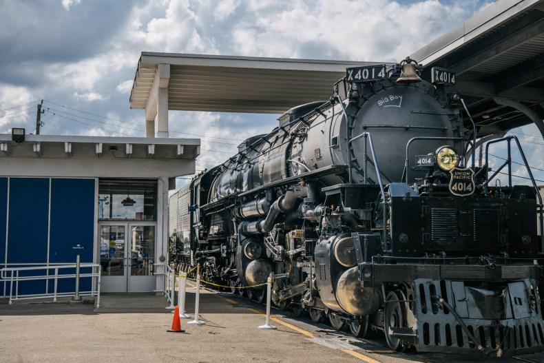 Texas Woman Stops Traffic Riding Train Top