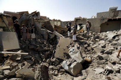 Image result for yemen destruction