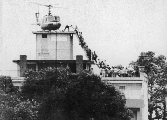 The Last Helicopter: Evacuating Saigon