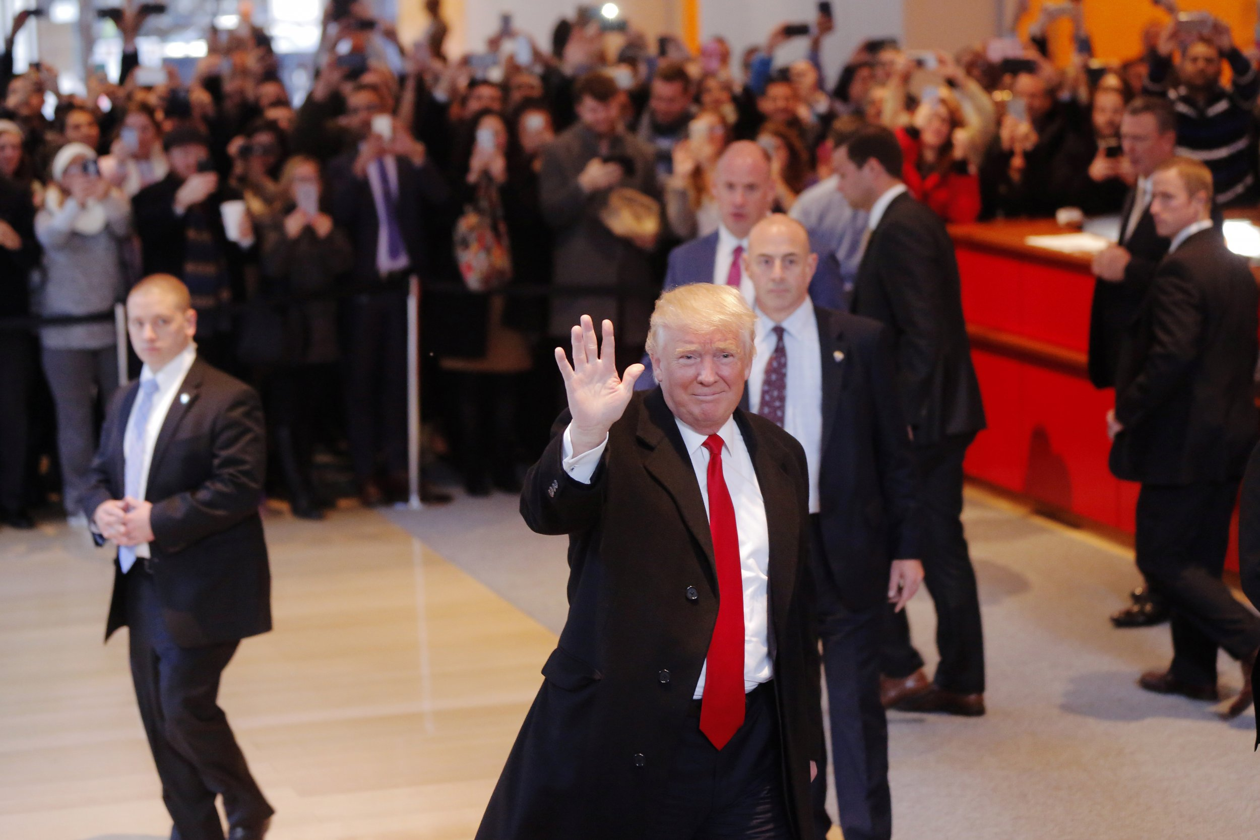 donald trump softens on