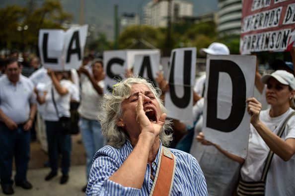 sick people in venezuela