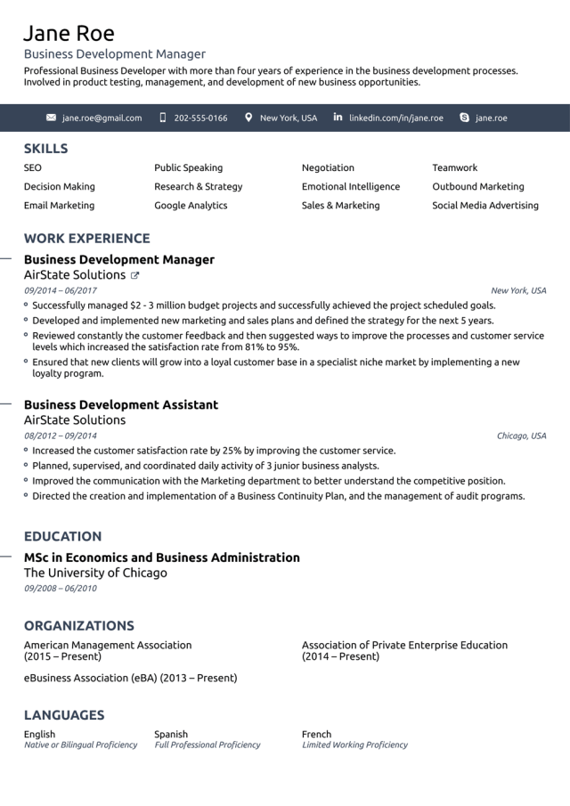 Free Resume Templates for 13 [Download Now]