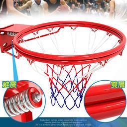 狂推薦 避震彈簧!!標準18吋雙層金屬籃球框(含籃球網)B004-1728標準籃框架.耐用籃筐架子籃網.金屬籃架不含籃球 ...